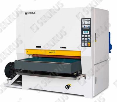 Machine for grinding sheet metal after laser cutting SEKIRUS P19929M -R1300S