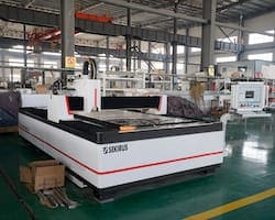 Budget fiber laser sheet cutting machines