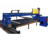 CNC Gantry Plasma Sheet Metal & Round Pipe Cutting Machine SEKIRUS P1714M06-6015-60600