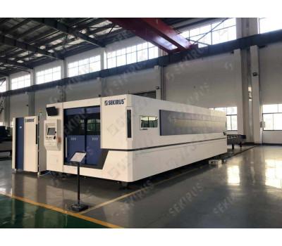 Chamfering Laser Milling Machine with 3D-head SEKIRUS P2902M-6020HGA-X5 (10 000 W) IPG laser sourse