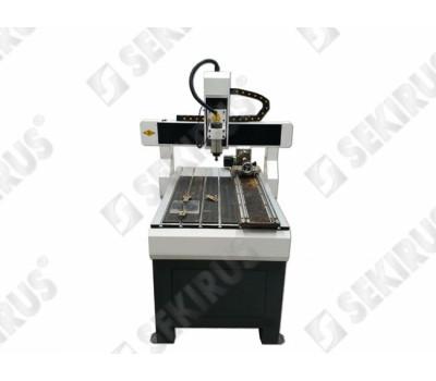 Milling Machine with Rotary Axis 600х900 1.5 kW SEKIRUS P2630M-6090-02