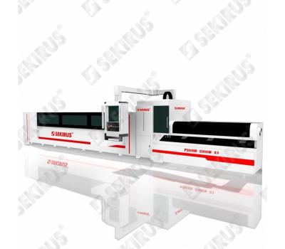 Laser Pipe-Cutter with Beveling up to 45 degrees SEKIRUS P2606M-20600M-X5